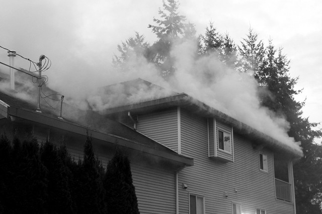 fire in the neighborhood