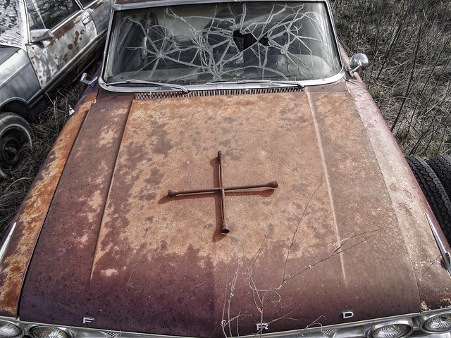 On the alter of the rusty FORD