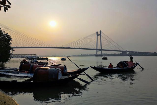 A romantic boatride