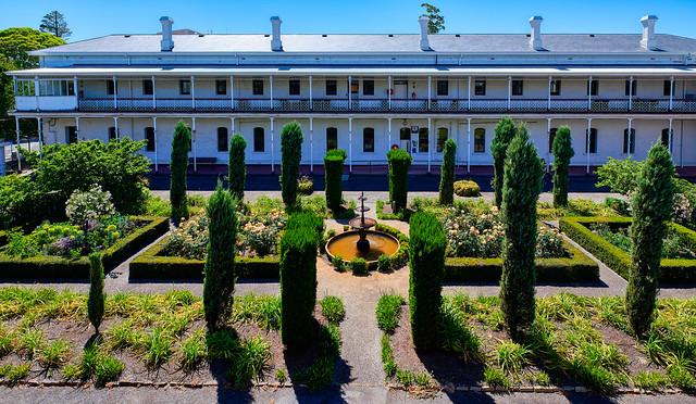 Colonial Hospital Garden
