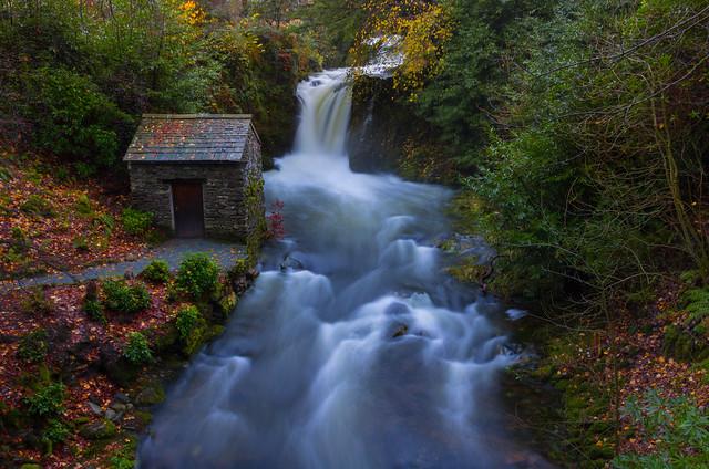 Rydal Hall falls