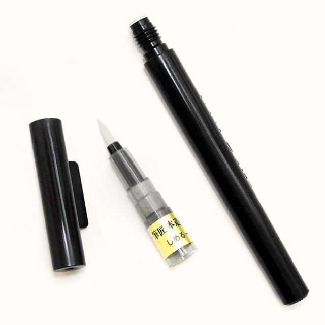 パイロット 新毛筆 細字 セーラー 筆匠本造りふでペン レビュー 筆ペン 比較