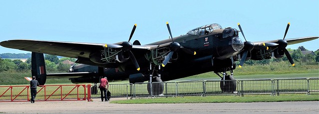Lancaster Bomber BBMF PA474 City of Lincoln