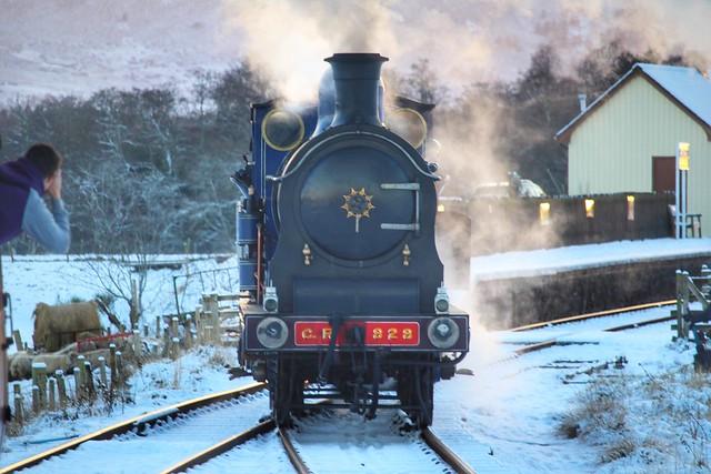 Strathspey Railway 828 - Broomhill