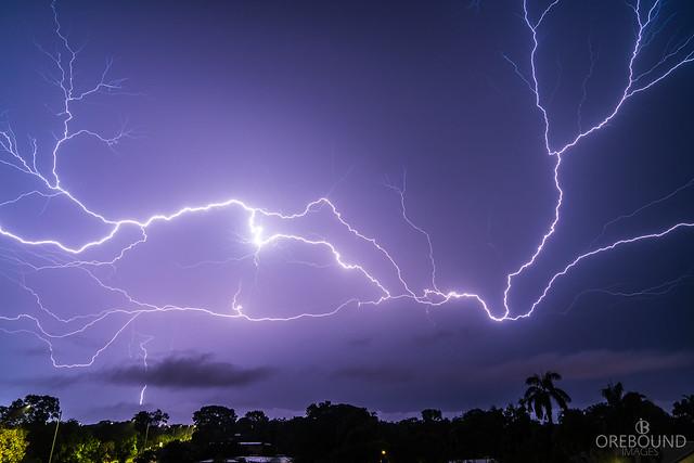 Darwin, NT Lightning