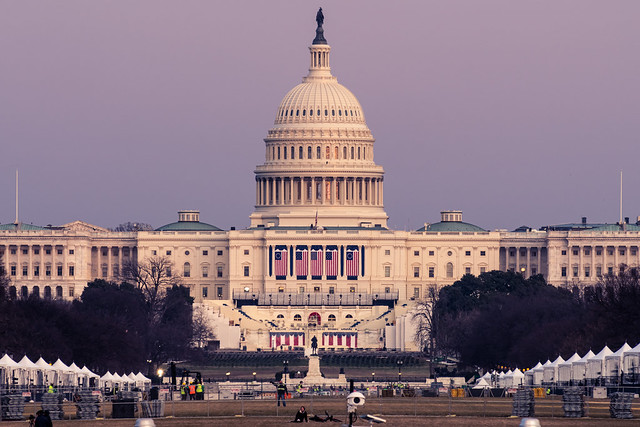 The Capitol Readies for the Biden Inauguration