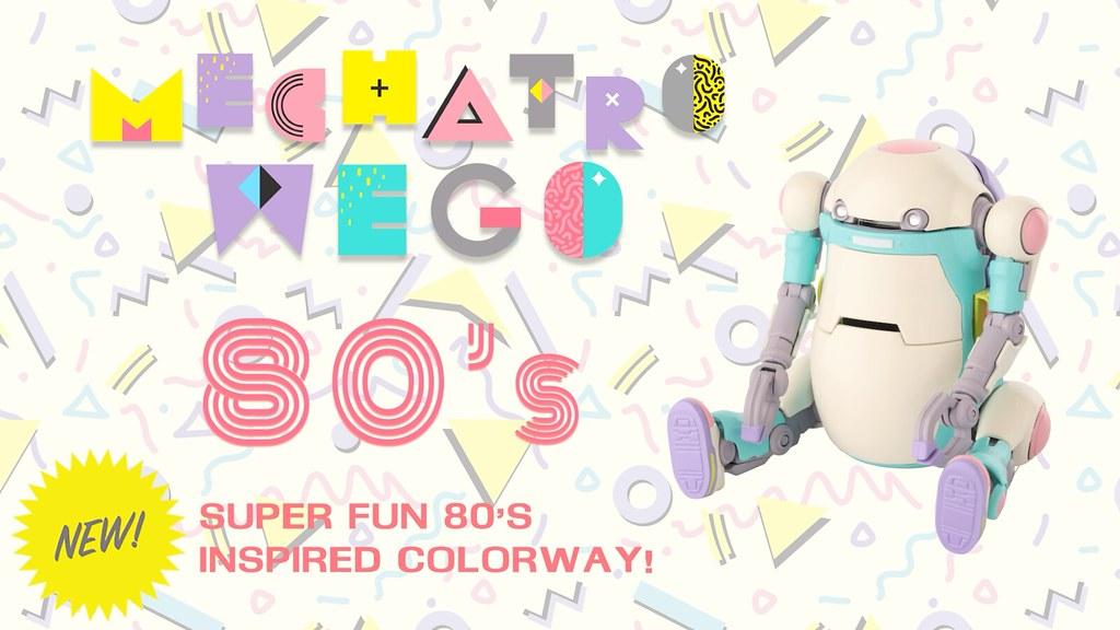 千值練《35機動機器人WeGo》換上粉嫩「80's」曼菲斯風格 Mechatro WeGo超療癒回歸!