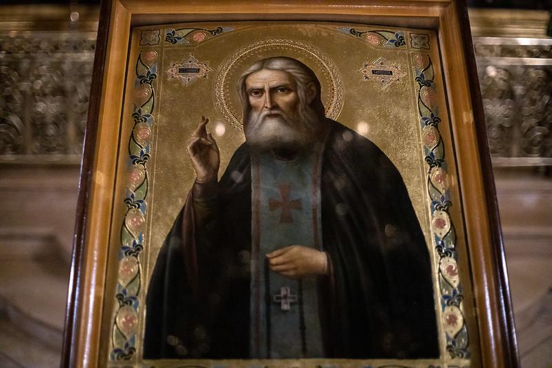 15 января 2021, День памяти св. Серафима Саровского/January 15, 2021, St. Seraphim of Sarov memorial Day