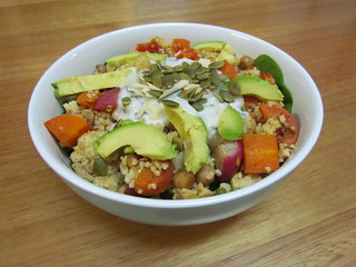 Masala and Millet Bowl