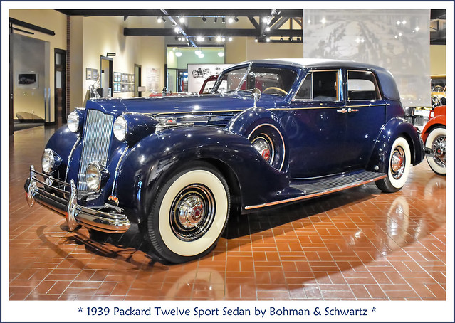 1939 Packard Twelve Sport Sedan