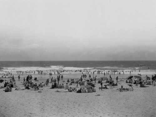 Surf Bathing at Southport Main Beach, 1930 | by Queensland State Archives