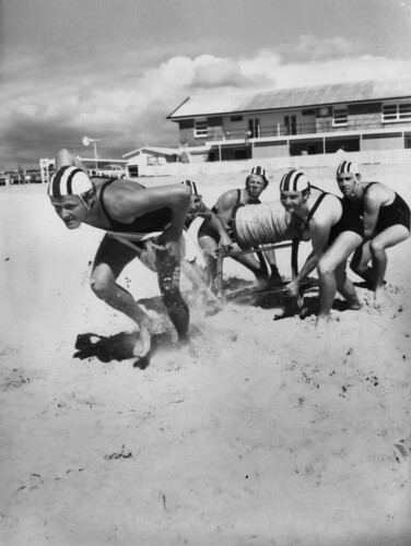Surf Lifesaving - R and R Team Practice Maroochydore Surf Club | by Queensland State Archives