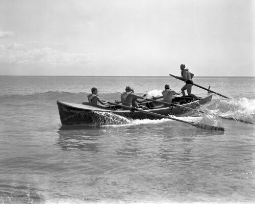 Gold coast - Kirra Surf Club surf boat. | by Queensland State Archives