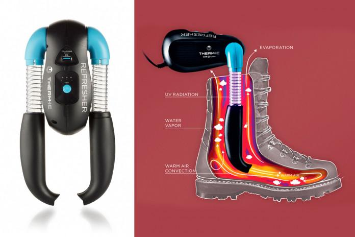 Vysoušení lyžařských bot a rukavic