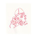 Chad Coombs posted a photo:single line - ink on paper - single edition