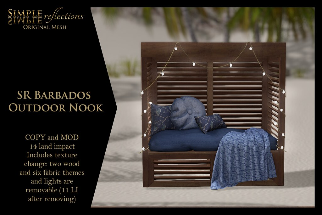 SR Barbados Outdoor Nook @ The Liaison Collaborative