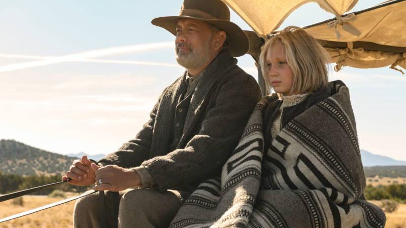 Tom Hanks and Helena Zengel