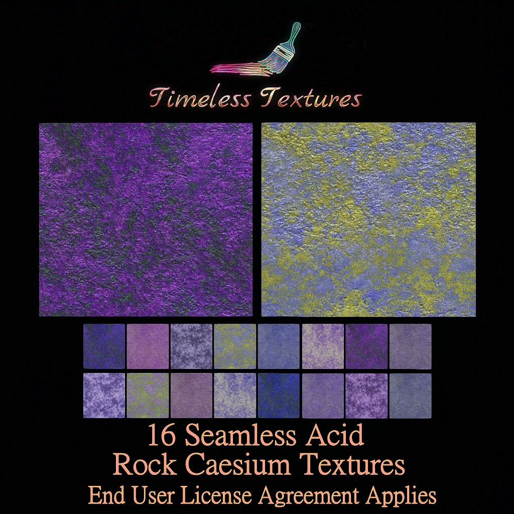 TT 16 Seamless Acid Rock Caesium Timeless Textures