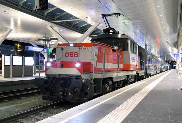 ÖBB 1163 006 Salzburg Hbf