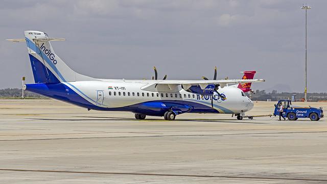 Indigo ATR72 VT-IYI Bangalore (BLR/VOBL)
