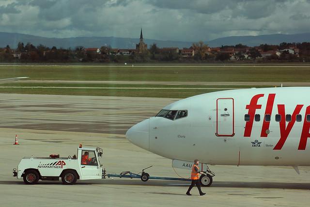 Planes at Lyon Saint-Exupéry Airport