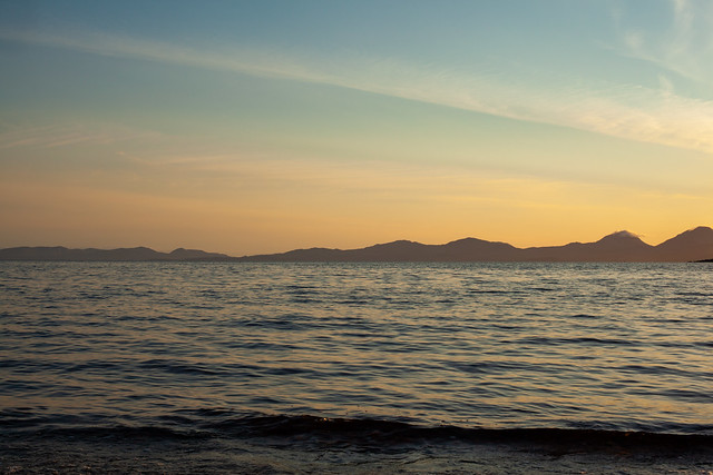 Soothing Sunset, Scotland