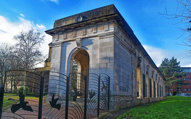 Peace Gardens, Holloway Head, Birmingham,