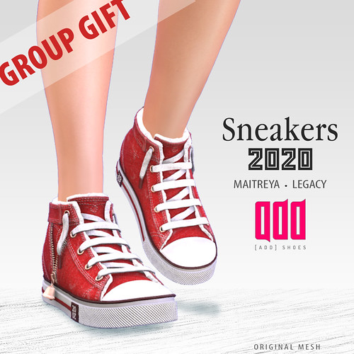 Group gift - [ADD] Sneakers
