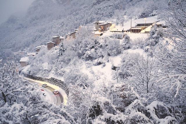 une fuite d'hiver - Scottini a Terragnolo