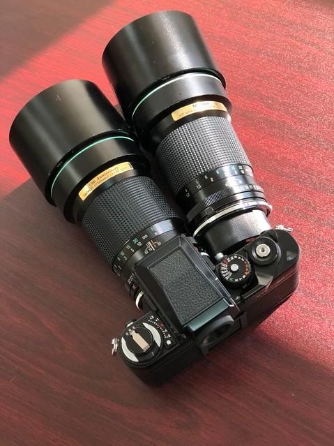 Tamron SP 180mm f2.5 35週年版 VS 普及版