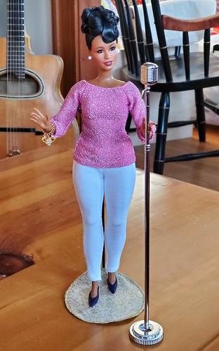 Ella in a Fresh Dolls outfit.