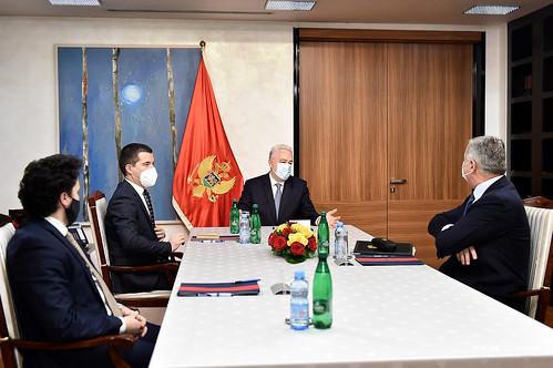 Krivokapić razgovarao sa Đukanovićem, Bečićem i Abazovićem