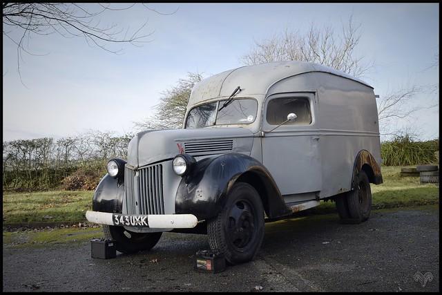 1940s Ford  Flat Head V8.