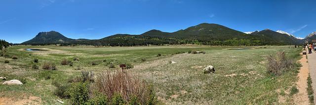 Sheep Lake Information Station, Rocky Mountain National Park, CO