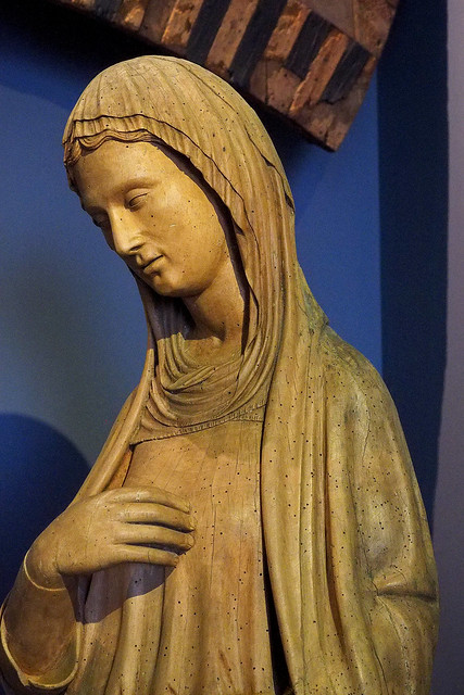 Mary, from the Annunciation