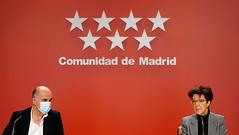 Nuevas medidas anunciadas por la Comunidad de Madrid, este mediodía, en su estrategia ante el COVID-19 en la región