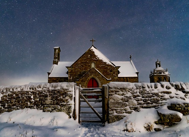 Winter Church. Kiln Pit hill Co Durham