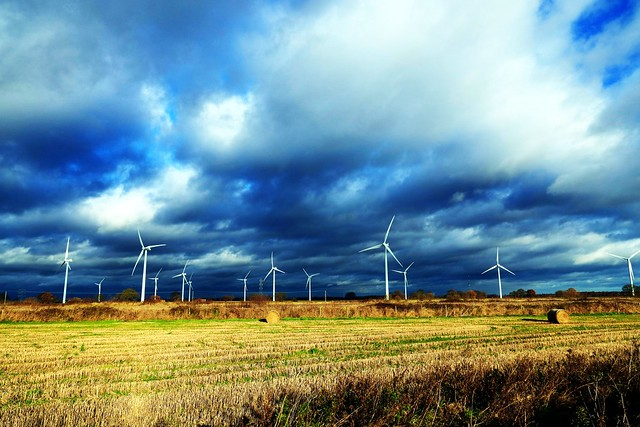 Wind Turbines & Weather 6th December 2019 near Mauds Bridge