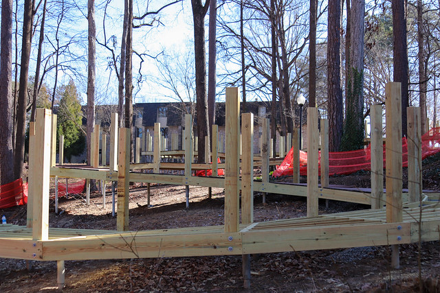 Woodland Walk Construction Update 1/14/2021