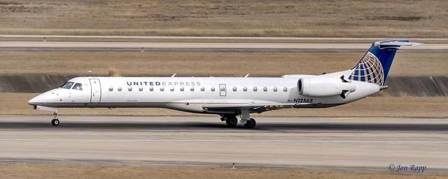 United Express Embraer ERJ-145LR N12563 (IAH) 1b (edit)