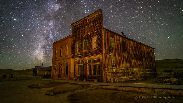 IOOF Hall and Milky Way in October
