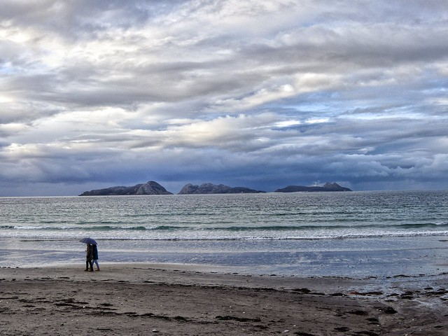 Praia. Choiva. Cíes