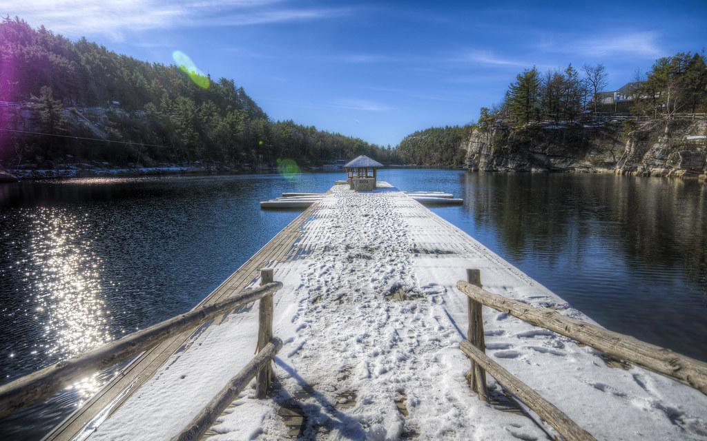 Empty Mohonk Dock