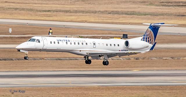 United Express Embraer ERJ-145XR N11192 (IAH) (edit)