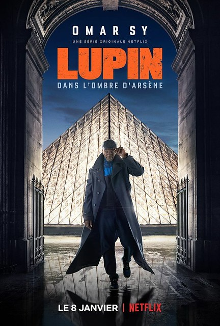 Affiche série Lupin