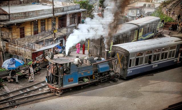 Leaving Darjeeling