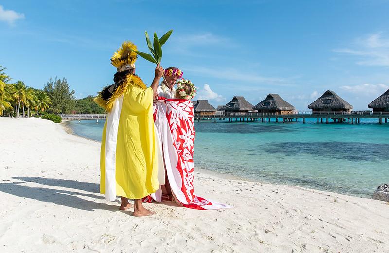 Love Tahitian Wedding Conrad Bora Bora Nui