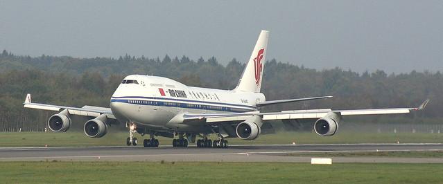Air China, B-2447, MSN 25883,Boeing 747-4J6, 11.10.2014,HAM-EDDH, Hamburg