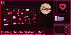 *NW* Falling Hearts Skybox - Red