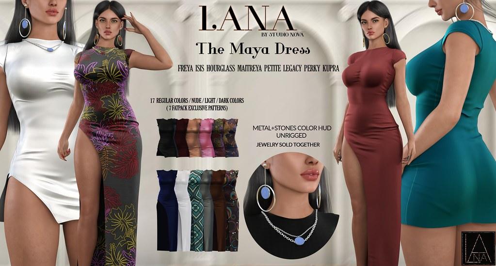 #LANA // The Maya Dress  ♥